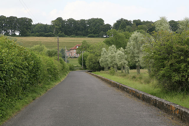 Road to Salisbury from Homington