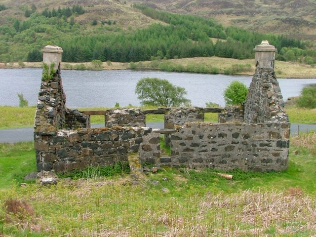 Ruined Cottage, Overlooking Loch Meadhoin