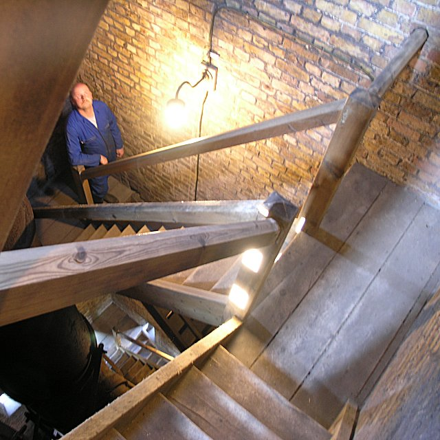 Inside Kew Bridge Steam Museum's Tower