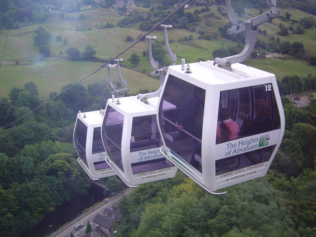 Cable Cars(Heights of Abraham Matlock)