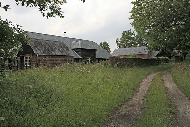 Farm buildings at Dogdean Farm, nr Homington