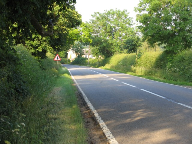 A151 towards Bourne