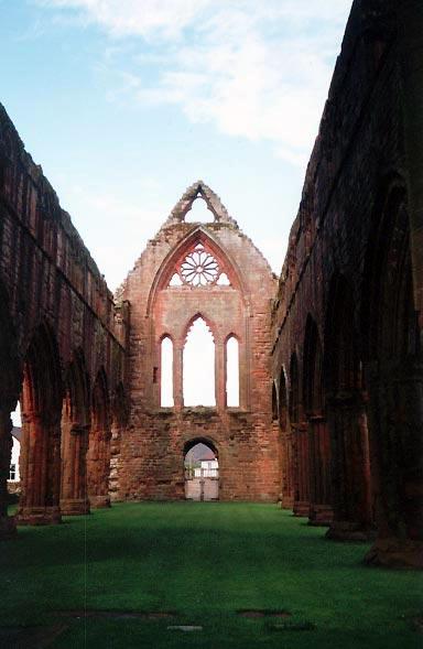 Church Ruins - New Abbey, Dumfries & Galloway