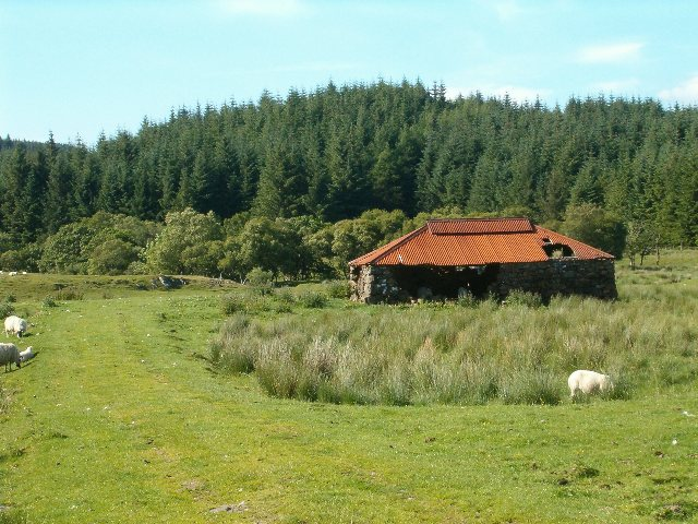 Barn in Glen Lonan