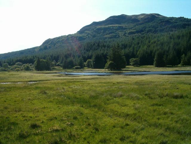 Loch in Glen Lonan