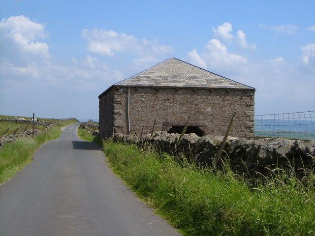 Barn on Peart Lane, Scosthrop Moor