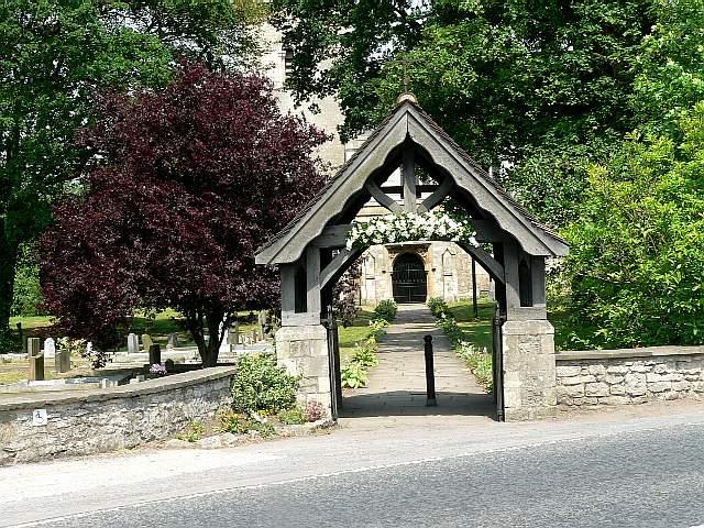 Lychgate of Brayton Parish Church