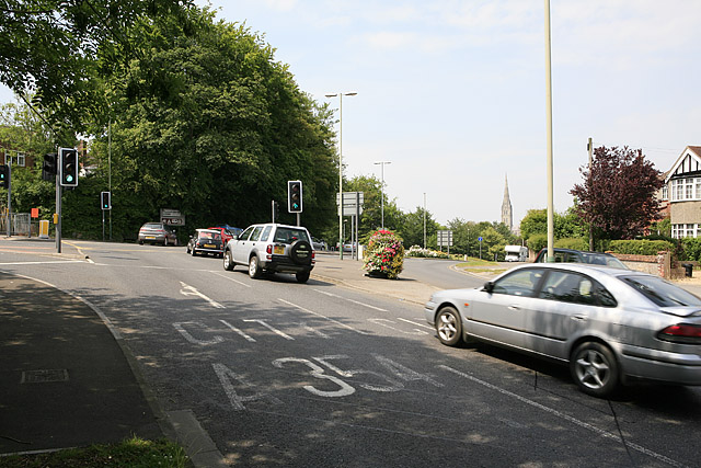 Junction of A338 and A354, Salisbury