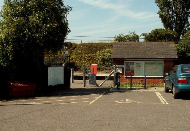 Station entrance, Wrabness, Essex