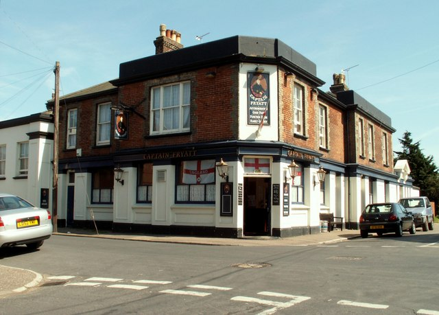 'Captain Fryatt' public house, Parkeston, Essex
