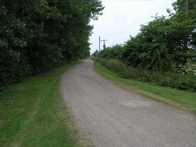 Track from Rectory Farm