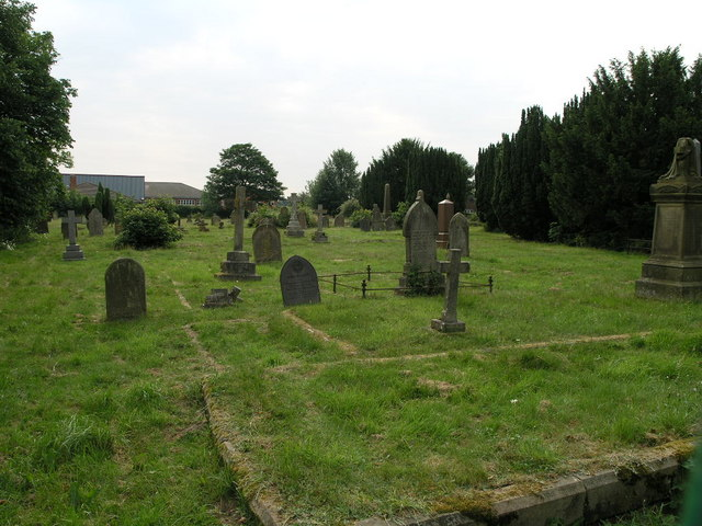 Cemetery and School