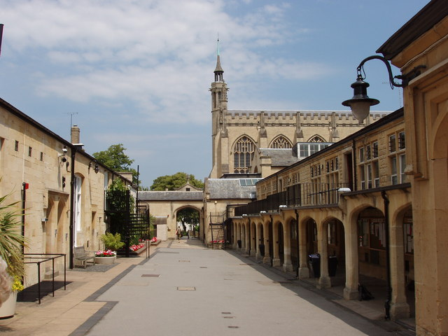 Quadrangle of Cheltenham College