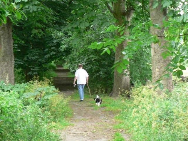 Path between Cragg Wood and Outwood Lane, Horsforth