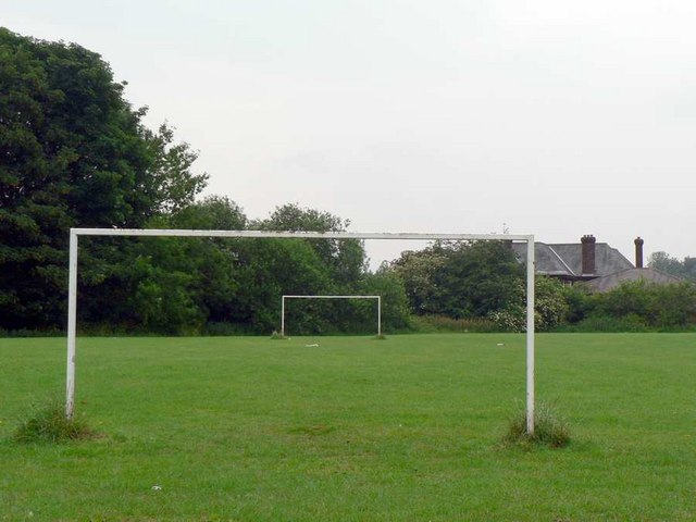Small football pitch, behind Horsforth Woodside Bowling Club, Low Lane