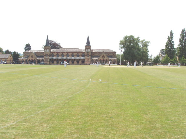 Gymnasium and cricket field, Cheltenham College