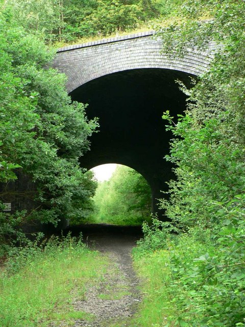 Disused Railway Tunnel, Calder Grove near Wakefield