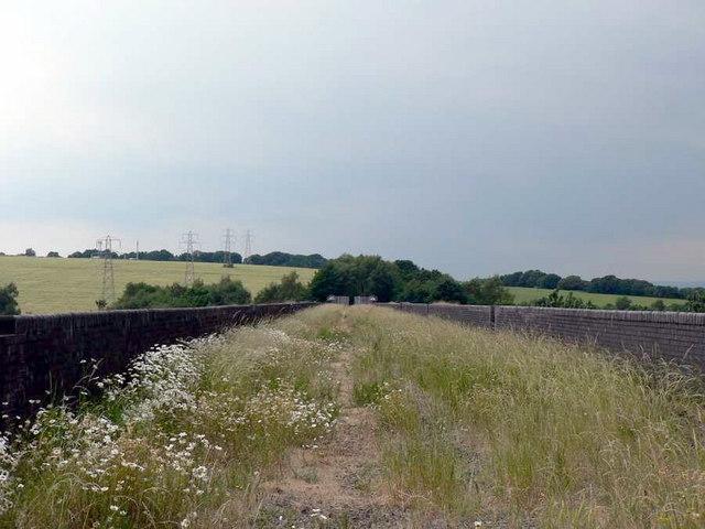 Disused railway viaduct, Calder Grove, near Wakefield