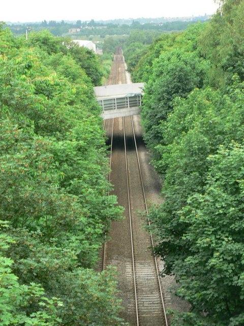 Railway line, Calder Grove