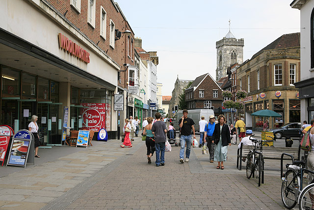 High Street, Salisbury