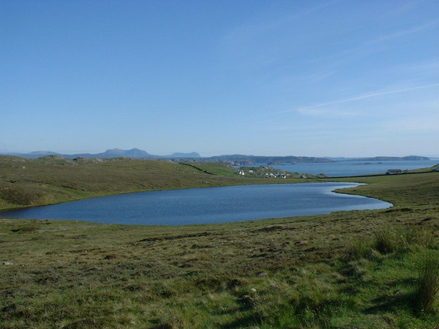 Loch Aisir with Blairmore in background