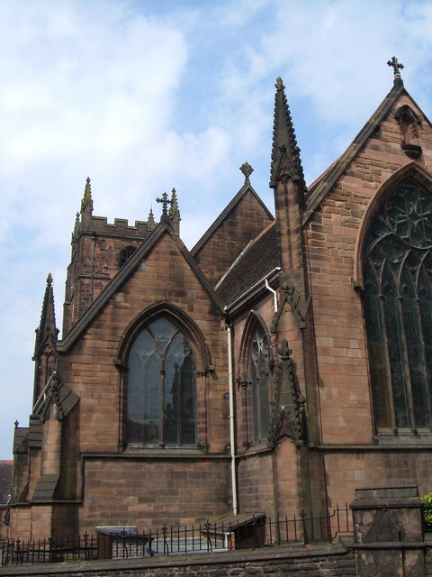 St Giles' church, Newcastle-under-Lyme