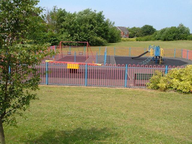 Playground off Cheswardine Road, Bradwell