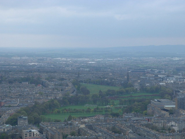 The Meadows and Bruntsfield Links from Arthur's Seat