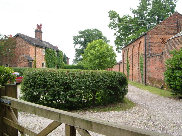 Cottages and outbuilding at Boden Hall