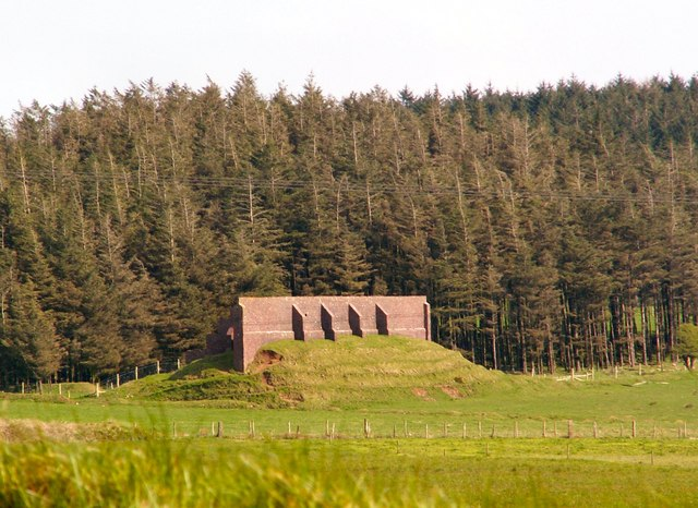 Rifle Range on Bodmin Moor