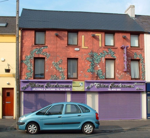 Decorated Building, Holywood