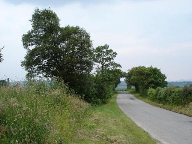 The road to Gwytherin