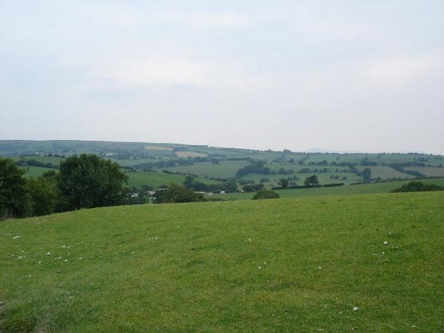 Hills at Gwytherin