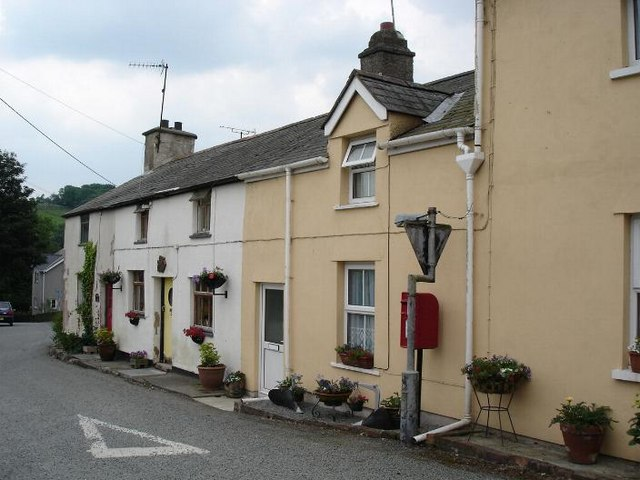 Gwytherin cottages