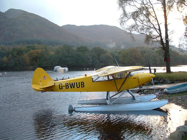Seaplane at St Filans