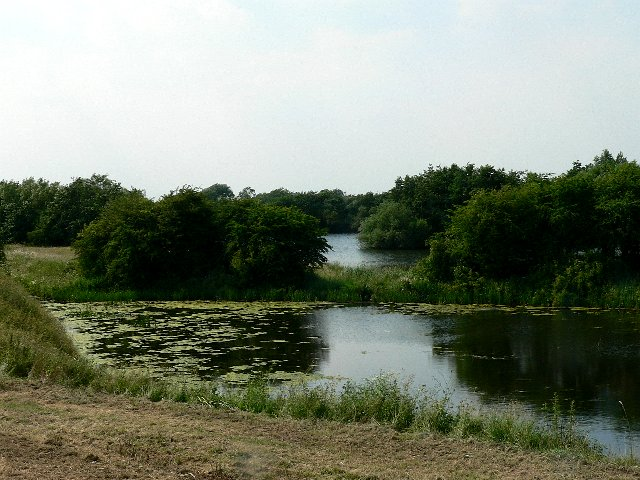 Attractive but Private Lakes adjacent to the Ouse