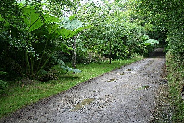 Bridleway to Halabezack