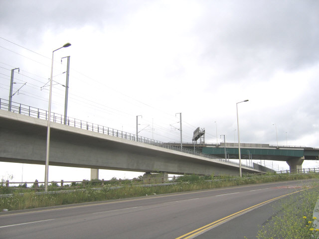 New railway viaduct
