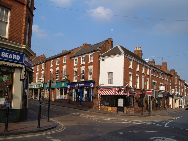 Junction of High Street and York Street, Stourport