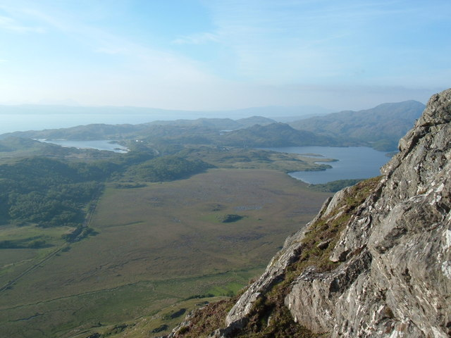 View from un-named Crag above Sunisletter