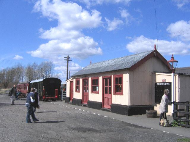 Bodiam station building