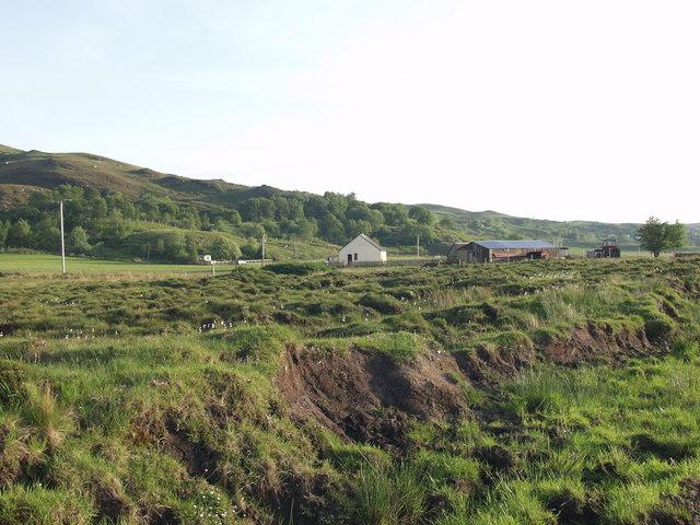 Farm Buildings on the edge of Mointeach Mhor