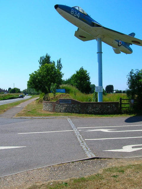 Entrance to Ford Airfield