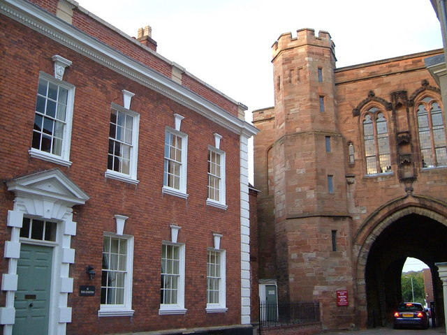 Guesten and Edgar Tower, Worcester