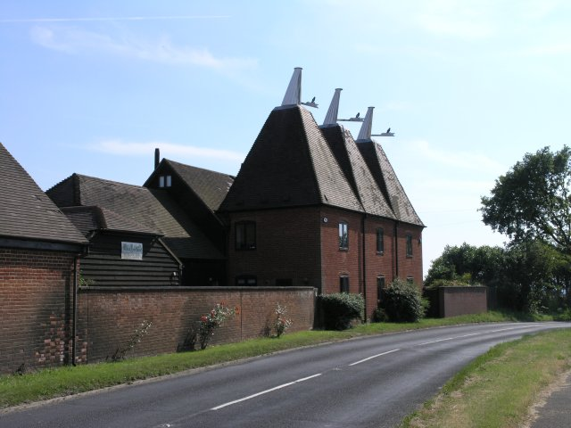 A typical Kentish Oast House Home Conversion