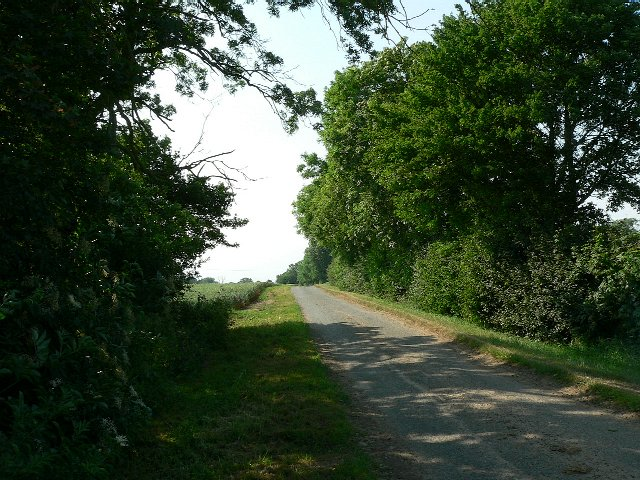 Marsh Lane on the way to Cawood