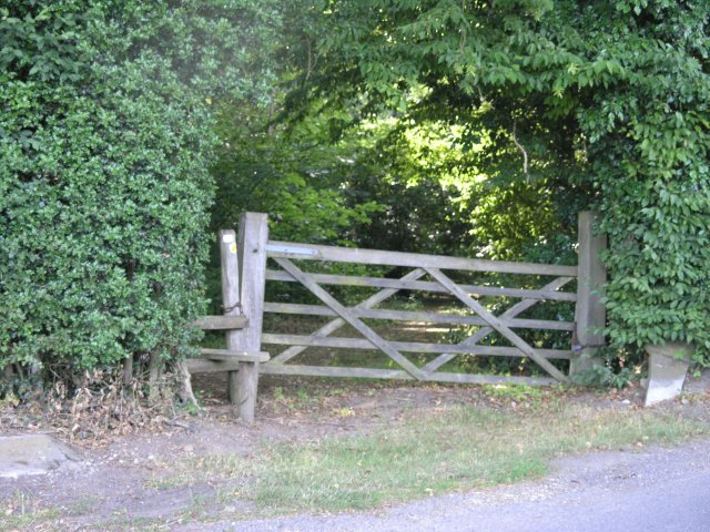 Public Footpath and Stile