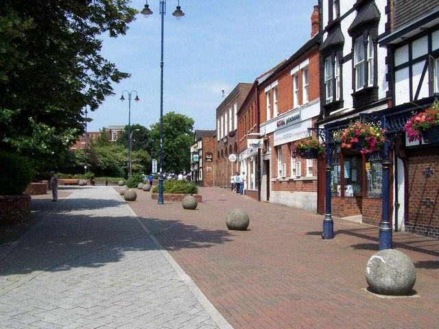 Stafford Street, Cannock