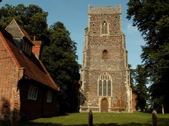 St. Mary the Virgin church, Little Bentley, Essex