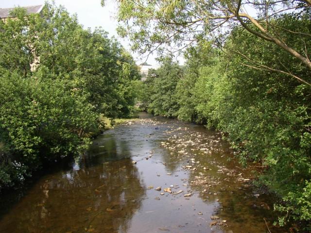 River Ryburn, Sowerby Bridge